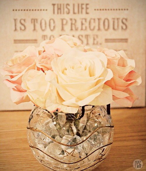 Easy And Inexpensive Diy Silk Flower Arrangement Geeky Posh