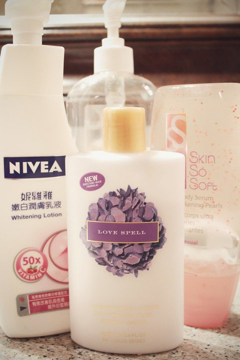 My perfect body lotion(s)