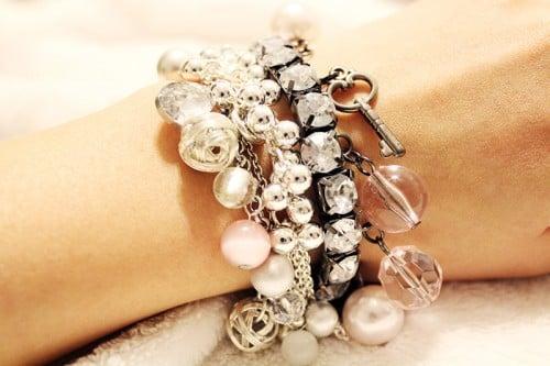 mixing & matching bracelets