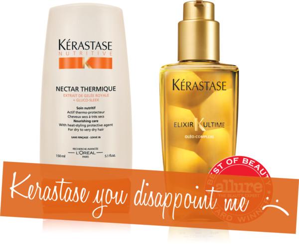 kerastase nectar thermique & Kerastase Elixir Ultime