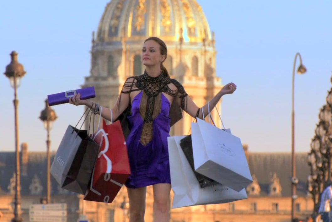 Gossip Girl Blair Waldorf Shopping