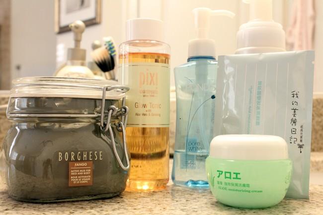 my SOS skincare routine