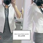 white house black market tweed jacket
