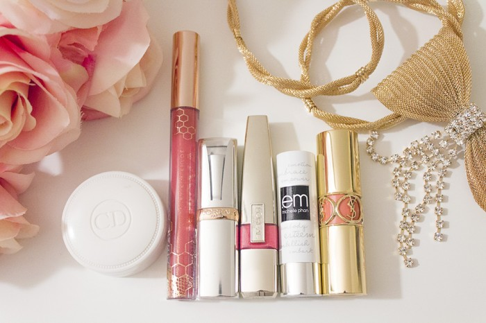 my 5 favorite lip products