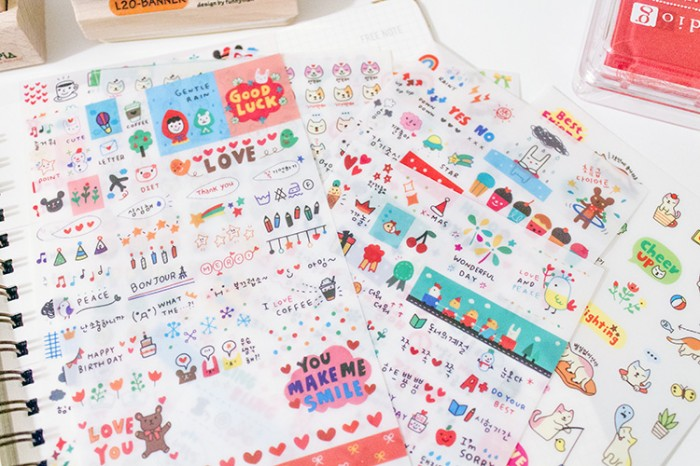 Cute Stickers from Aliexpress