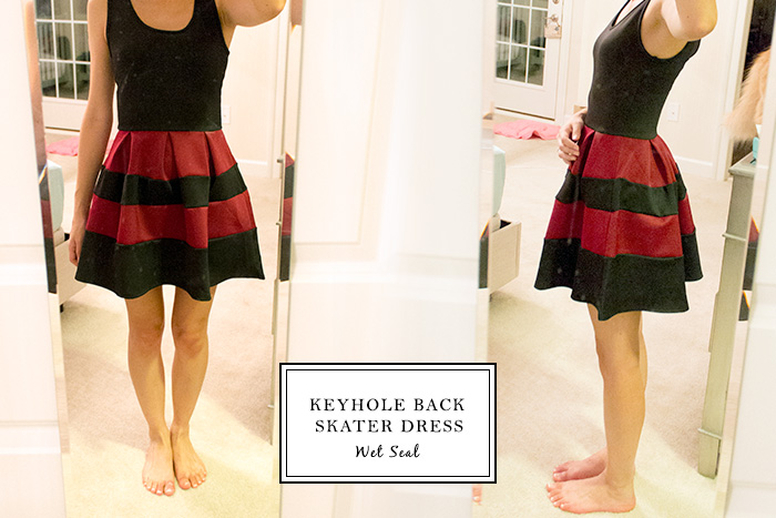 Keyhole Back Skater Dress from Wet Seal