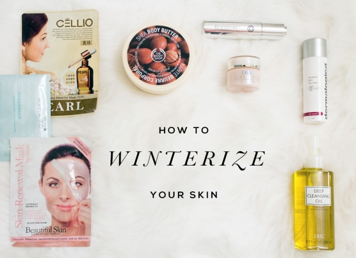 how to winterize your skin // Geeky Posh
