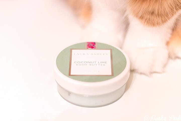 Laura Ashley Coconut Lime Body Butter