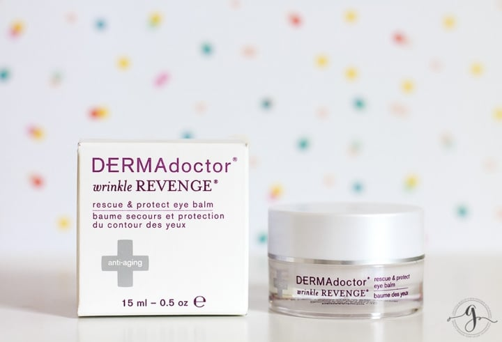 DERMADoctor Wrinkle Revenge Rescue & Protect Eye Balm review // Geeky Posh