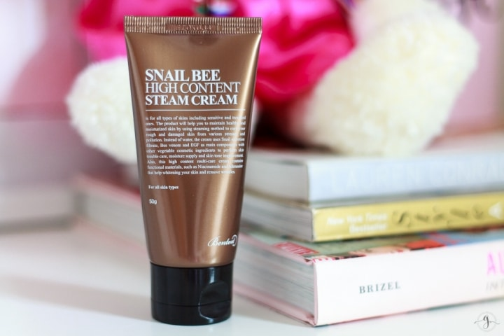 Benton snail bee high content steam cream review // Geeky Posh