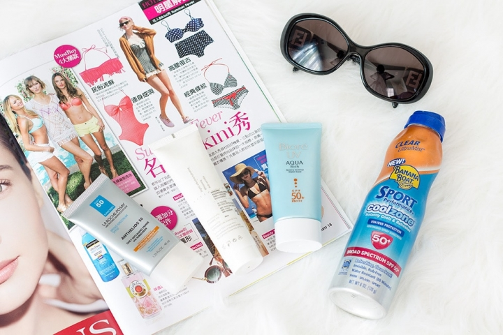 sunscreen recommendations and favorites // Geeky Posh