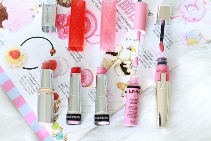 My favorite drugstore lipsticks // Geeky Posh