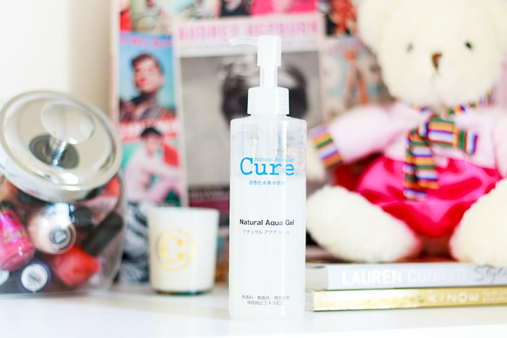 Cure Natural Aqua Gel review // Geeky Posh
