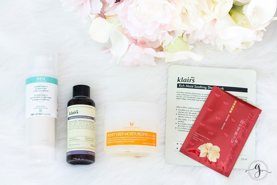 SOS skincare for dull dehydrated skin // Geeky Posh