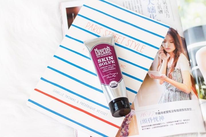 Nourish Organic Skin Solve review // Geeky Posh