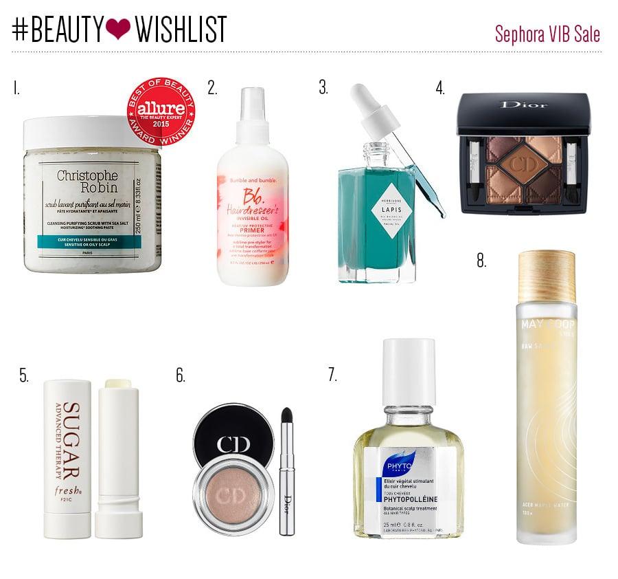 Sephora VIB sale wishlist // Geeky Posh