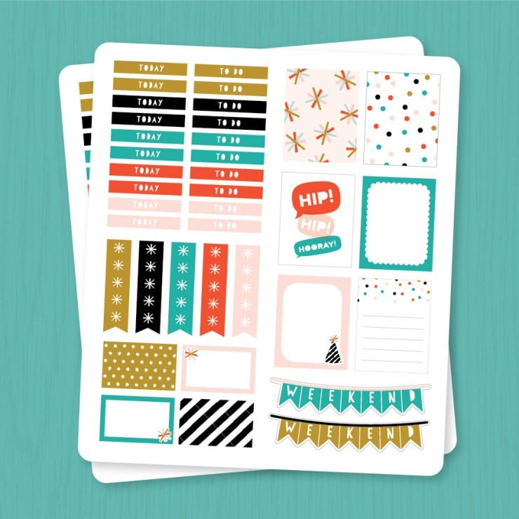 15 free printables to get you organized for 2016 // Geeky Posh