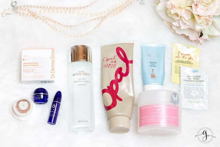 Recent beauty empties feat. Missha and Kiehl's // Geeky Posh
