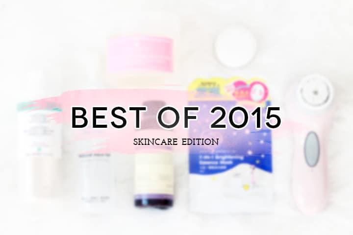 2015 Favorites - skincare edition // Geeky Posh