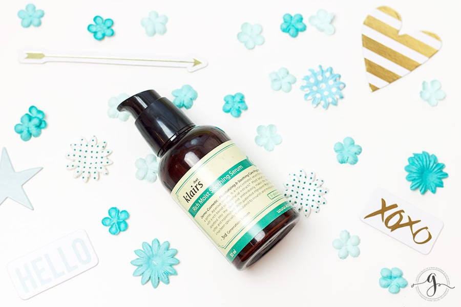 Simple hydration with Klairs Rich Moist Soothing Serum // Geeky Posh