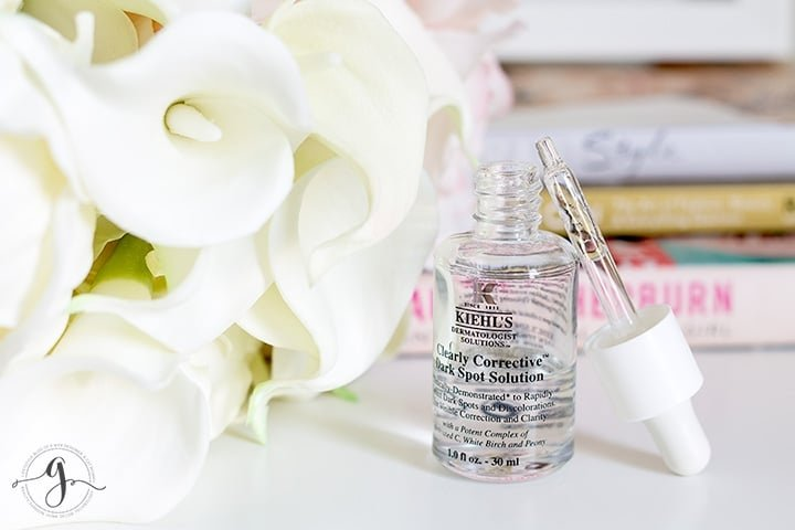 Kiehl's Clearly Corrective Dark Spot Solution review // Geeky Posh