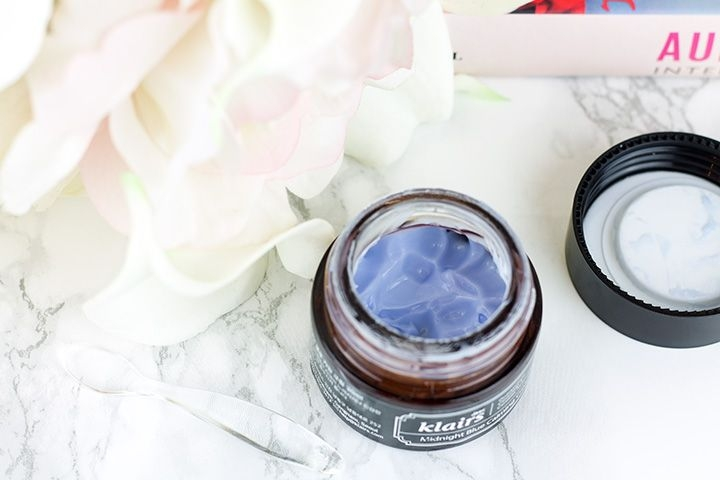 Klairs Midnight Blue Calming Cream review // Geeky Posh