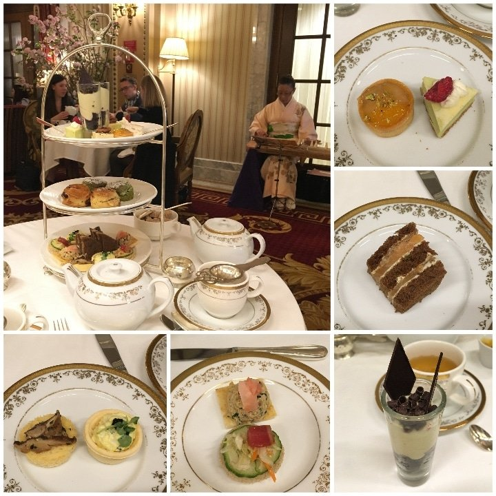 Afternoon Tea at the Willard Intercontinental