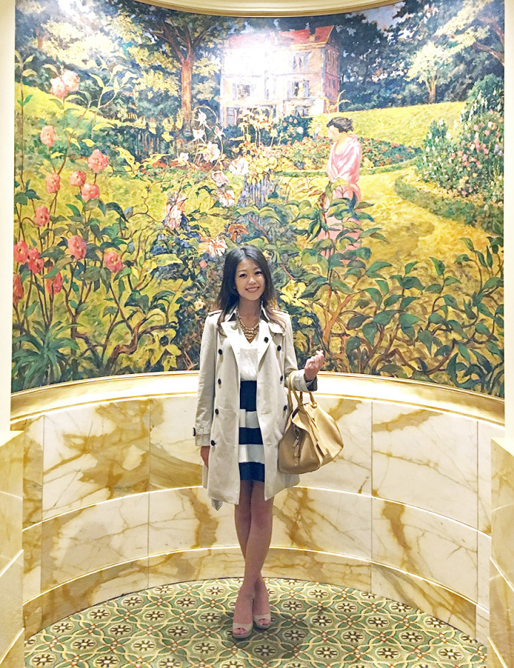 OOTD - Afternoon Tea at the Willard Intercontinental