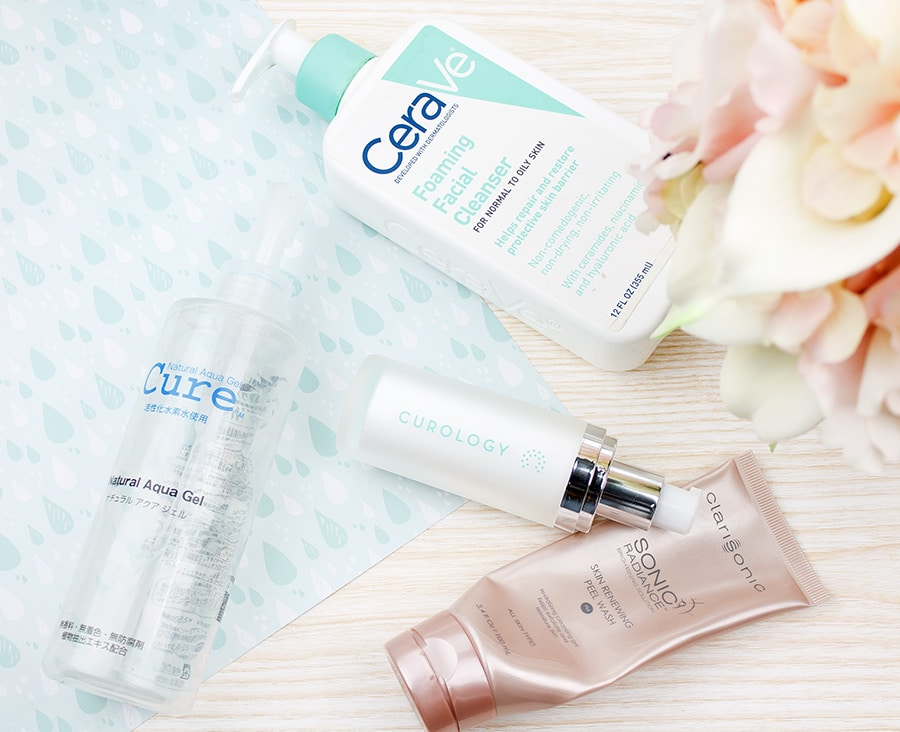 Skincare empties #5 feat. Curology, Clarisonic, and CeraVe