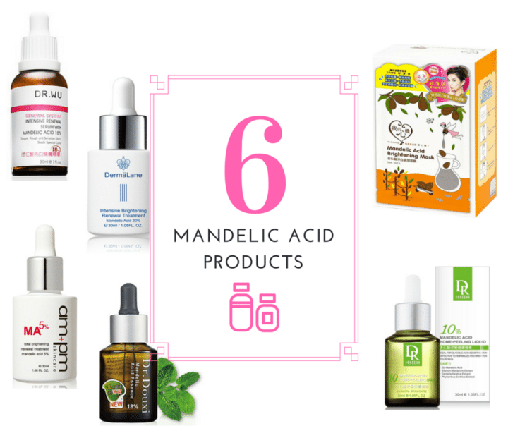 The lesser known, but still brilliant chemical exfoliant: mandelic acid