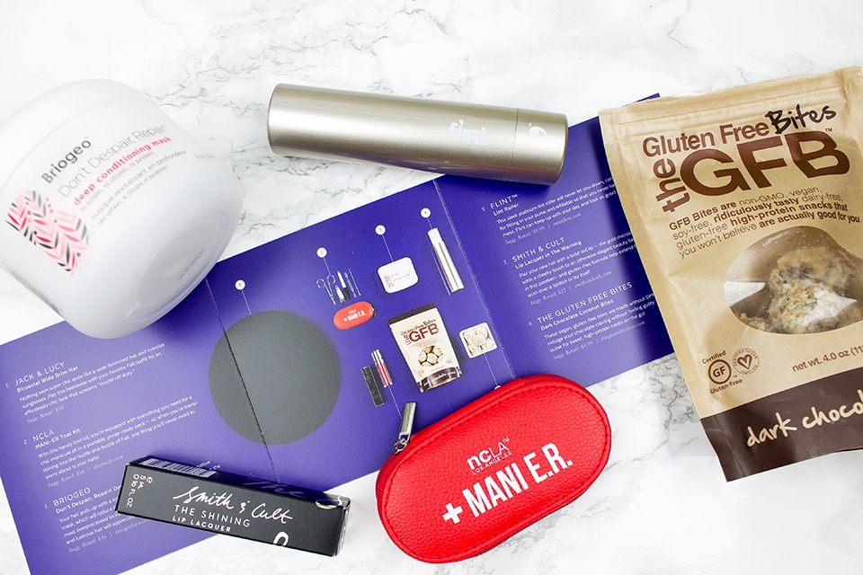 Popsugar Must Have Box review - September 2016 edition