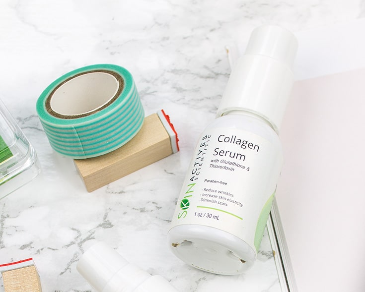 Skin Actives Collagen Serum review