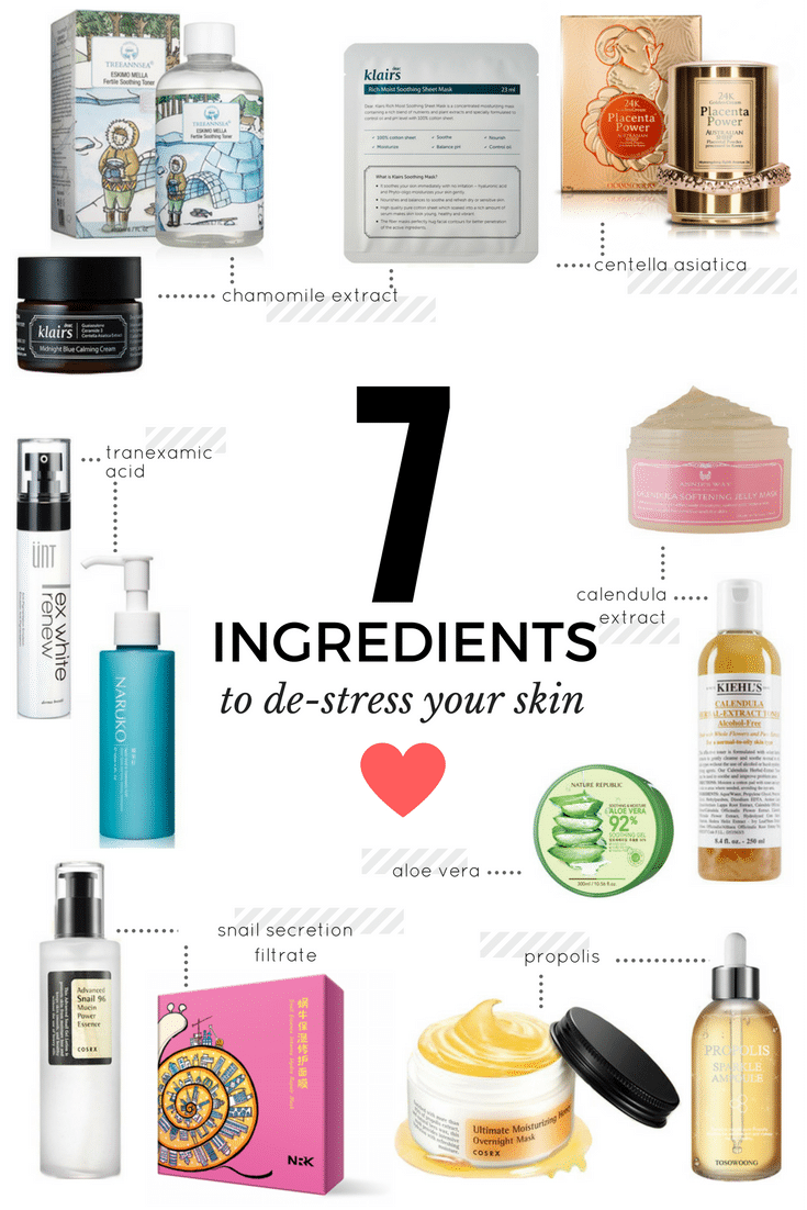 7 super ingredients you need to destress your skin