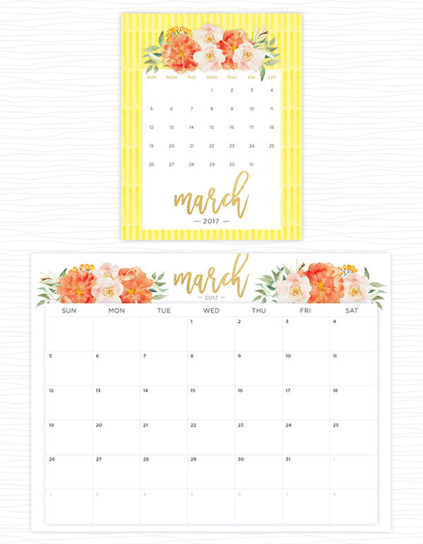 20 printables to stay organized in 2017