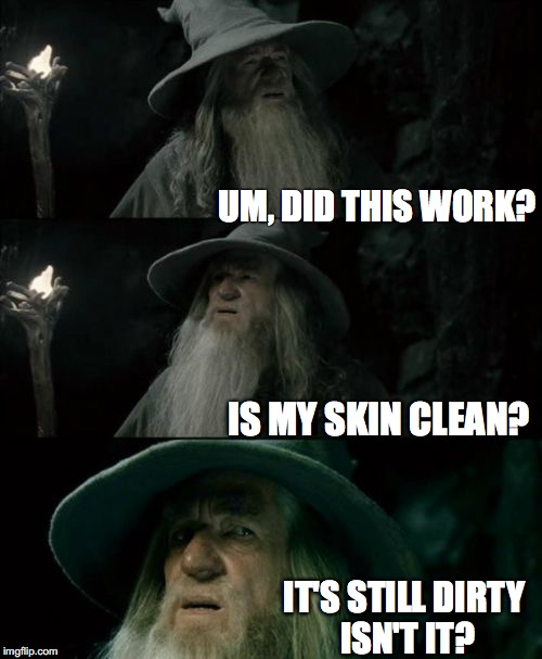 dirty skin meme