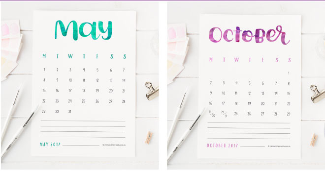 Free Printables To Stay Organized In   Geeky Posh