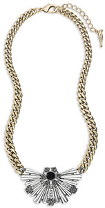 C+I Deco Fanfare Statement Pendant Necklace