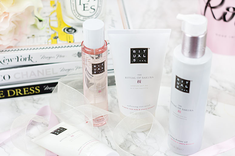 Affordable indulgences - the Rituals Ritual of Sakura collection