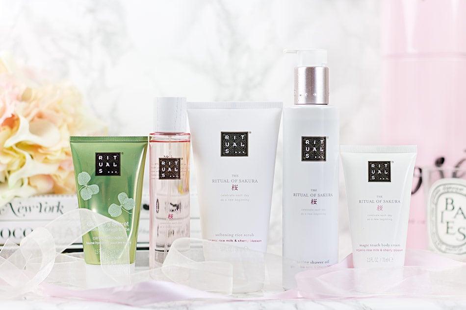 Affordable indulgences - the Rituals Ritual of Sakura collection