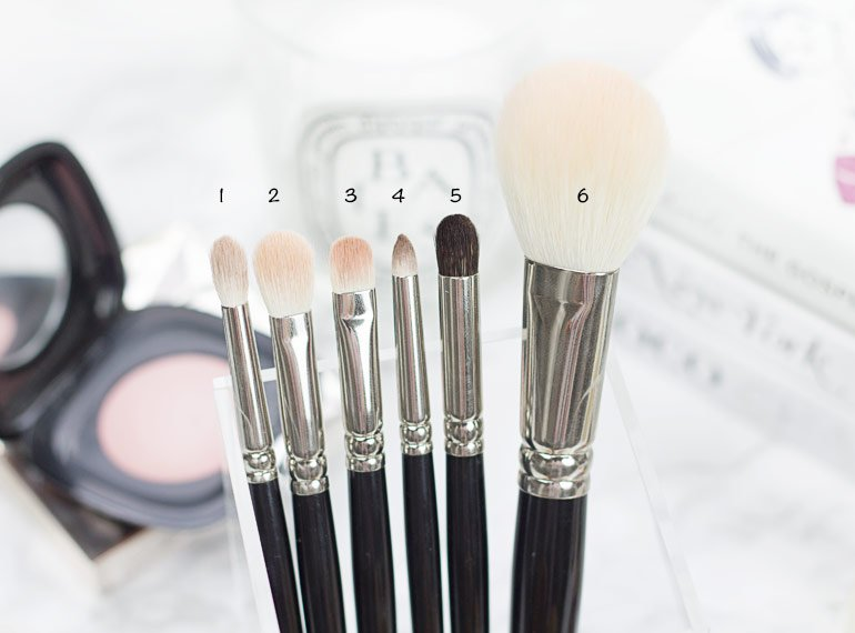 First look at Hakuhodo makeup brushes