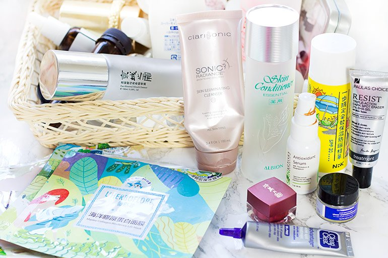 Skincare empties #7 feat. Naruko, Kiehl's, Odacite, and more