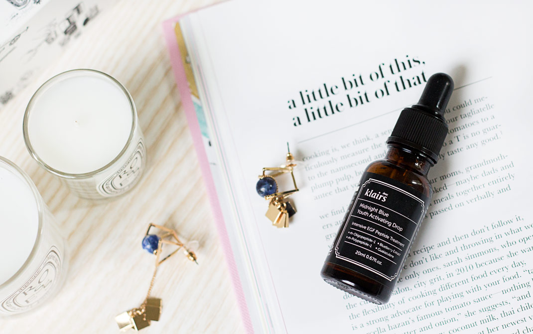 Effortless anti-aging boost with the Klairs Midnight Blue Youth Activating Drop