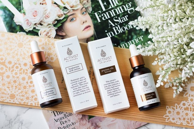 serums with Activist Skincare