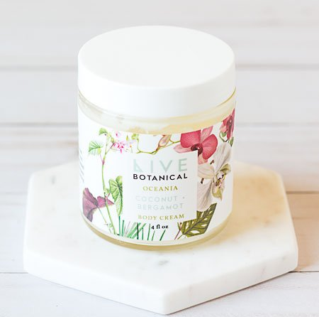 Live Botanical Oceania Body Cream
