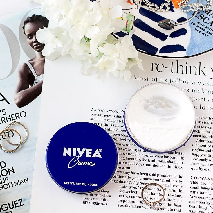I used the $1 Nivea Creme on my face, and here's what happened