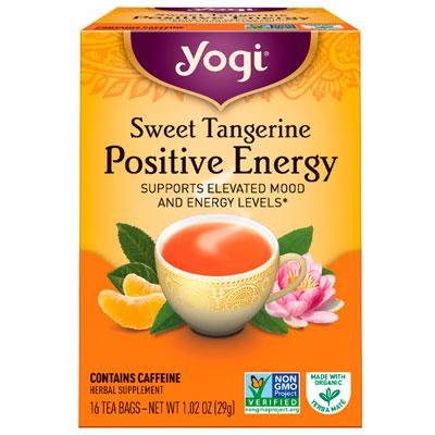Yogi Tea Sweet Tangerine Positive Energy