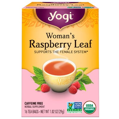 Yogi Tea Women's Raspberry Leaf