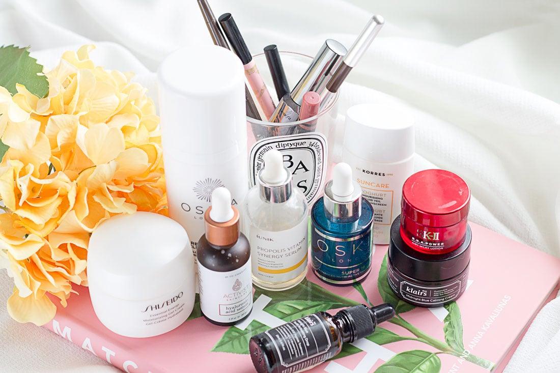 Beauty empties #13 feat. Shiseido, SK-II, Oskia, and more