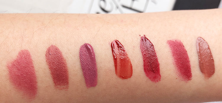 Warm and sultry - my top 7 lipstick picks for fall