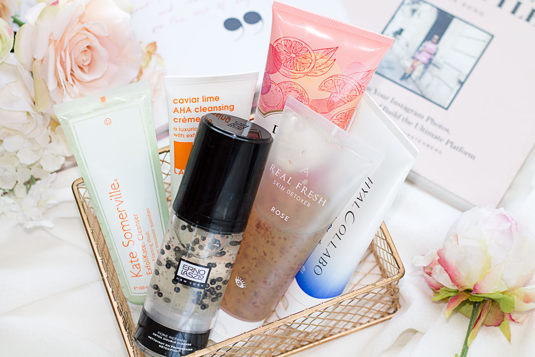 The skincare edit: 6 second cleanser I'm currently using